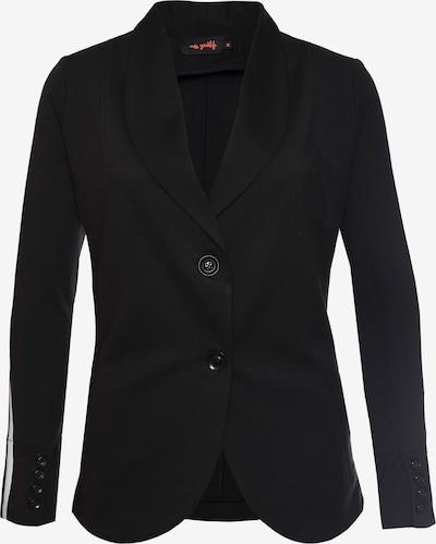 miss goodlife Blazer 'Stripe' in schwarz, Produktansicht