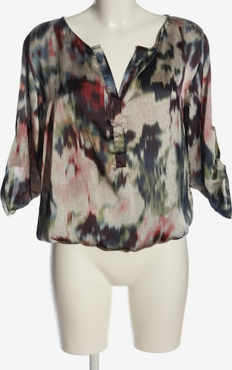 Chilli Schlupf-Bluse in S in braun / khaki / wollweiß, Produktansicht