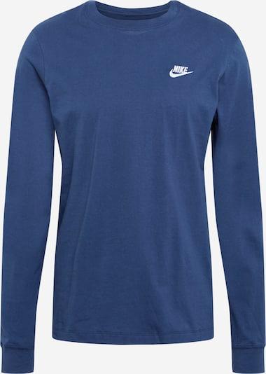 Nike Sportswear T-Shirt en bleu foncé, Vue avec produit