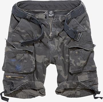 Brandit Shorts 'Savage Vintage' in Grau