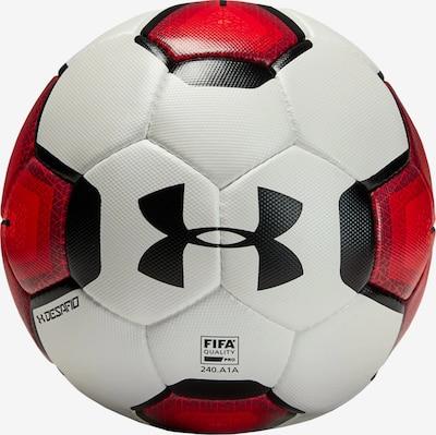 UNDER ARMOUR Ball in rot / schwarz / weiß, Produktansicht