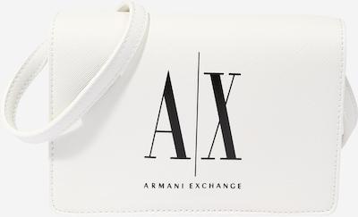ARMANI EXCHANGE Bolso de hombro en negro / blanco, Vista del producto