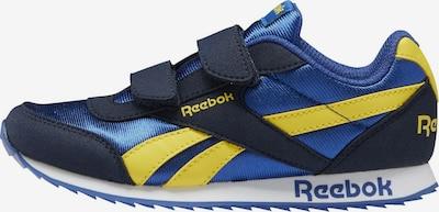 REEBOK Sneaker in blau / dunkelblau / gelb, Produktansicht