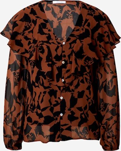 Camicia da donna 'Assunta' iBlues di colore marrone / nero, Visualizzazione prodotti