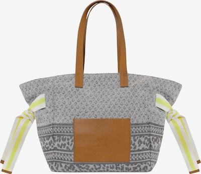 CODELLO Canvas-Shopper in hellgrau, Produktansicht