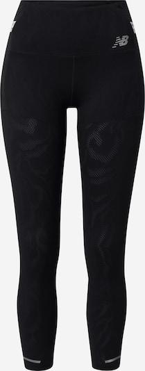new balance Športne hlače | črna / srebrna barva, Prikaz izdelka