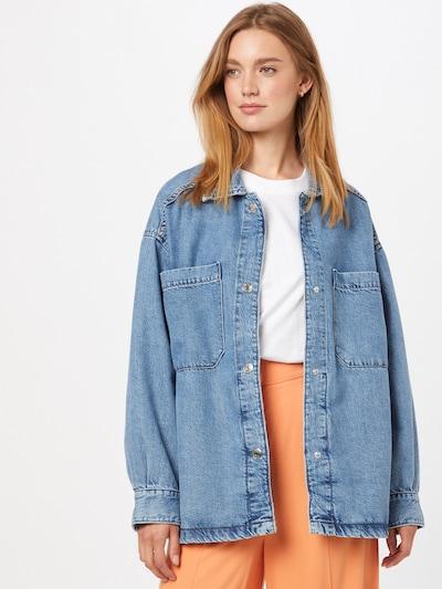 Bluză Gina Tricot pe albastru denim, Vizualizare model