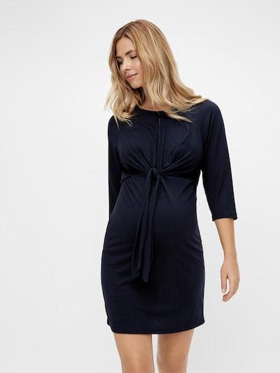 MAMALICIOUS Kleid 'Zilke' in dunkelblau, Modelansicht