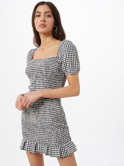 GUESS Kleid 'AIDA' in schwarz / weiß, Modelansicht