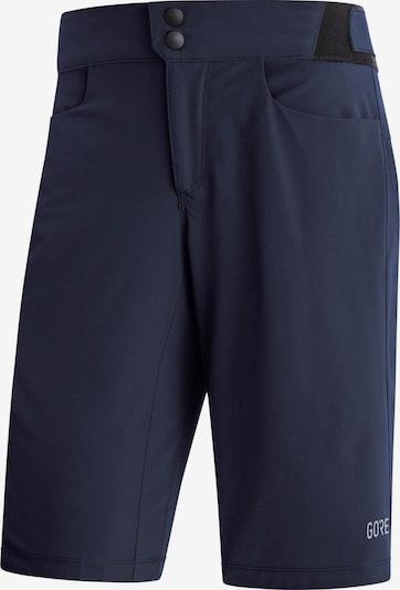 GORE WEAR Shorts 'Passion' in navy / grau / weiß, Produktansicht