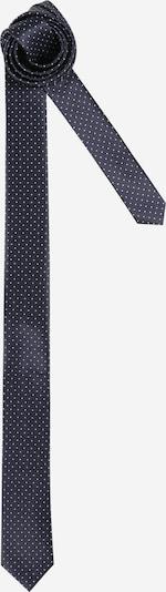 JACK & JONES Krawatte 'DION' in navy / weiß, Produktansicht
