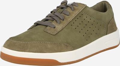 CLARKS Sneaker 'Hero' in oliv, Produktansicht