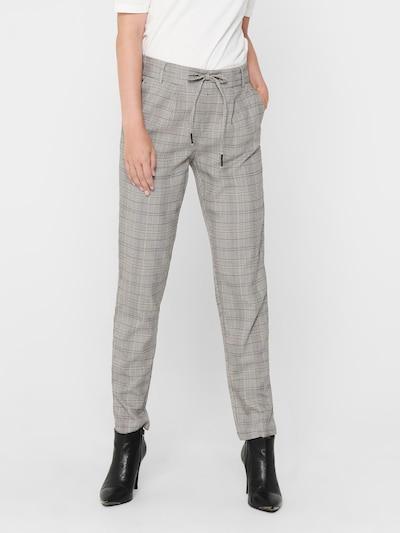 ONLY Hose 'Poptrash' in graumeliert / schwarz, Modelansicht