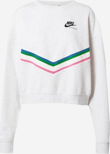 Nike Sportswear Sweatshirt in de kleur Gemengde kleuren / Wit, Productweergave