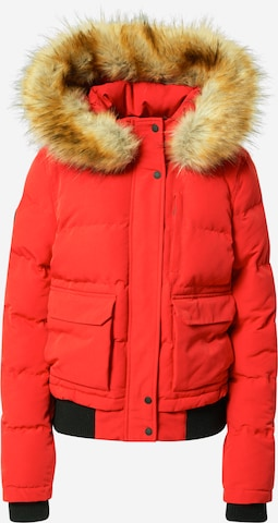 Superdry Winterjacke 'Everest' in Red