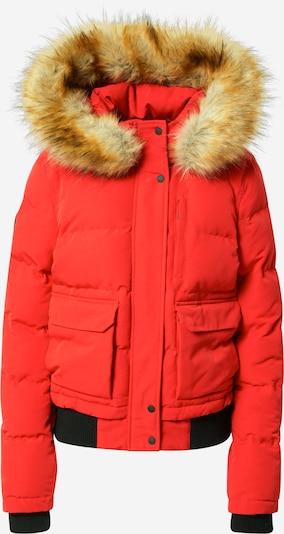 Superdry Ziemas jaka 'Everest', krāsa - gaiši brūns / gaiši sarkans, Preces skats