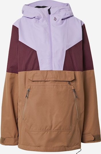 Volcom Chaqueta de montaña 'MIRROR' en marrón claro / malva / baya, Vista del producto
