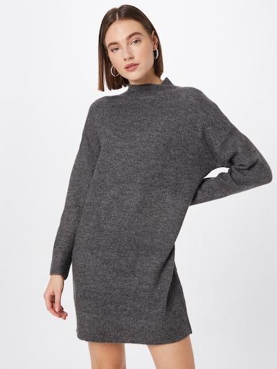 JDY Knitted dress 'Ziza' in Grey, View model