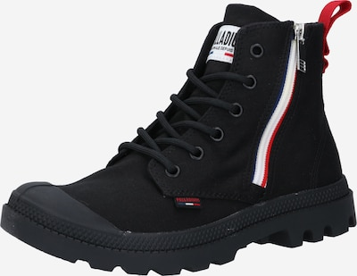 Palladium Lace-up bootie in red / black / white, Item view