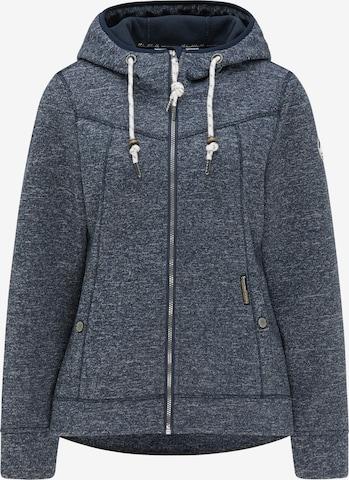 Schmuddelwedda Fleece Jacket in Blue