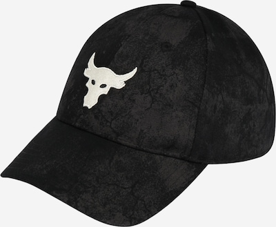 UNDER ARMOUR Sportcap 'UA Project Rock' in schwarz / weiß, Produktansicht