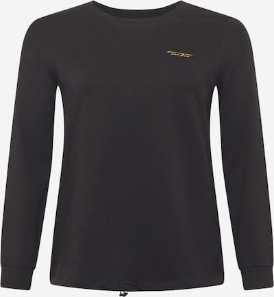 Vero Moda Curve Sweatshirt in de kleur Geel / Zwart, Productweergave