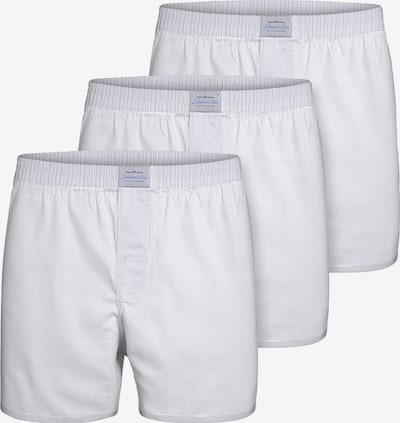 Lakeford & Sons Boxershorts ' 3-Pack 'Uni' ' in de kleur Wit, Productweergave
