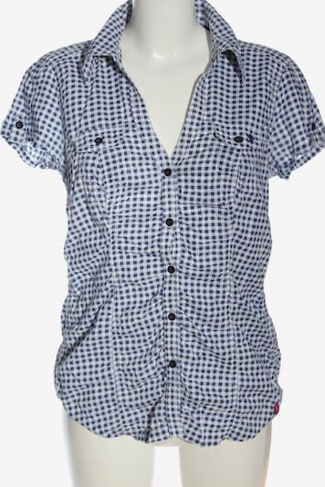 EDC BY ESPRIT Hemd-Bluse in M in blau / weiß, Produktansicht