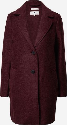 TOM TAILOR Manteau d'hiver en rouge foncé, Vue avec produit