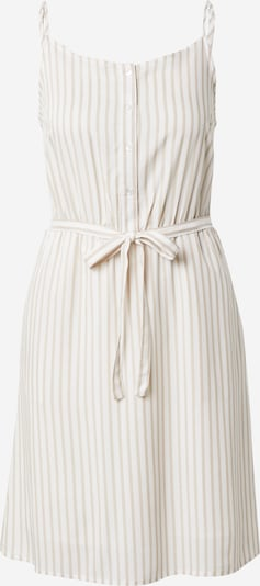 VILA Kleid 'HARPER' in beige / weiß, Produktansicht