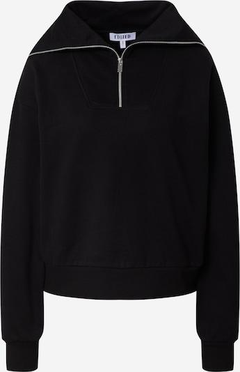 EDITED Sweatshirt 'Fionn' in schwarz, Produktansicht