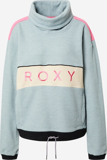 ROXY Sportsweatshirt en beige / opal / violet clair / rose / noir, Vue avec produit
