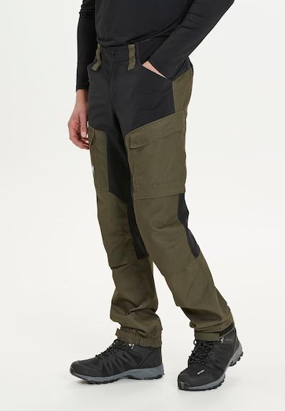 Whistler Trekkinghose 'ROMNING M' in dunkelgrün: Frontalansicht