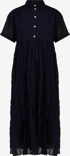 Finn Flare Kurzarm-Kleid in dunkelblau, Produktansicht