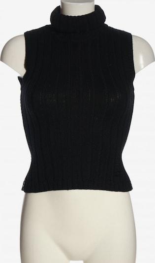Pedro del Hierro Feinstrickpullunder in S in schwarz, Produktansicht
