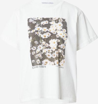 CATWALK JUNKIE Shirt 'FIELDS OF JOY' in gelb / schwarz / weiß, Produktansicht