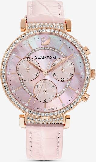 Swarovski Uhr in rosegold / rosa, Produktansicht