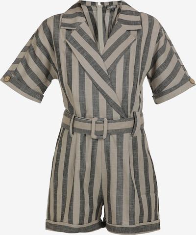 DreiMaster Vintage Jumpsuit en gris / taupe, Vista del producto