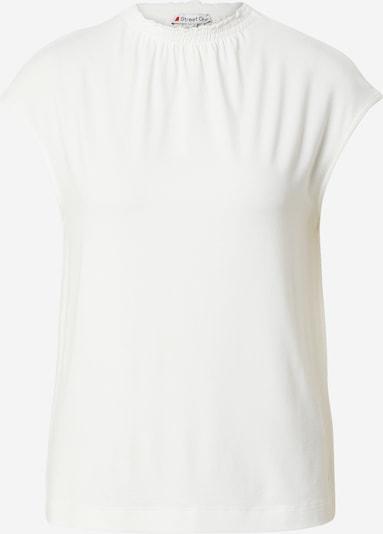 STREET ONE T-Shirt in weiß, Produktansicht