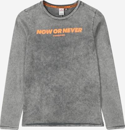 VINGINO Shirt 'Jacobo' in grau / dunkelorange, Produktansicht