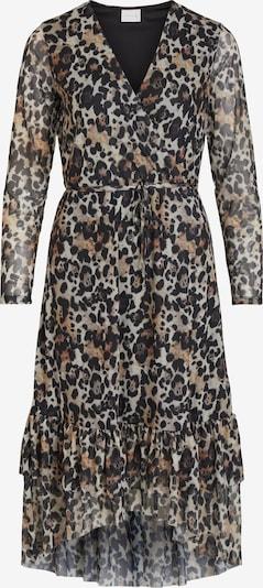 VILA Kleid 'MEMIS' in braun / schwarz, Produktansicht