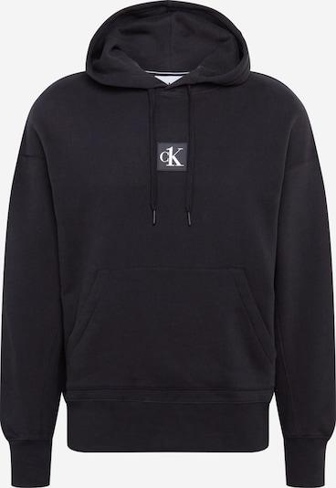 Calvin Klein Jeans Sweatshirt in apfel / schwarz / weiß, Produktansicht