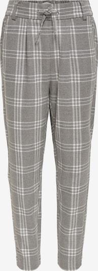 KIDS ONLY Pantalon en graphite / gris chiné / blanc, Vue avec produit