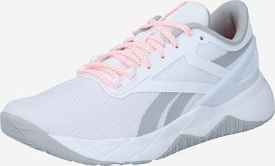 REEBOK Sports shoe 'Nanoflex' in Grey / Light grey / White, Item view