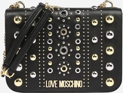 Love Moschino Sac bandoulière en or / noir / argent, Vue avec produit