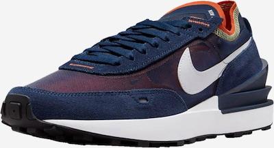 Nike Sportswear Niske tenisice 'Waffle One' u plava / narančasta / bijela, Pregled proizvoda