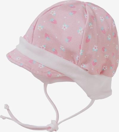 MAXIMO Mütze in mint / pink / pastellpink / hellpink / weiß, Produktansicht