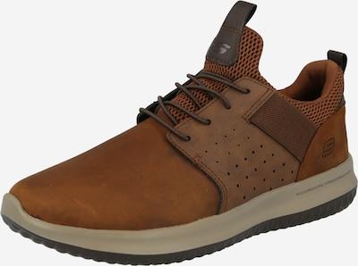 Pantofi cu șireturi SKECHERS pe maro, Vizualizare produs