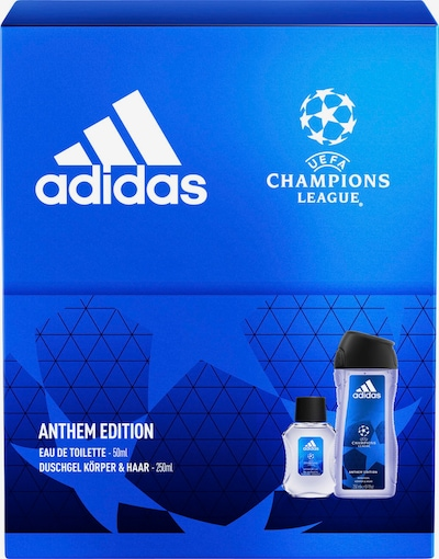 ADIDAS PERFORMANCE Set in kobaltblau / schwarz / transparent, Produktansicht