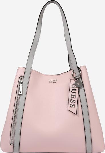 GUESS Tasche 'NAYA' in hellpink / weiß, Produktansicht